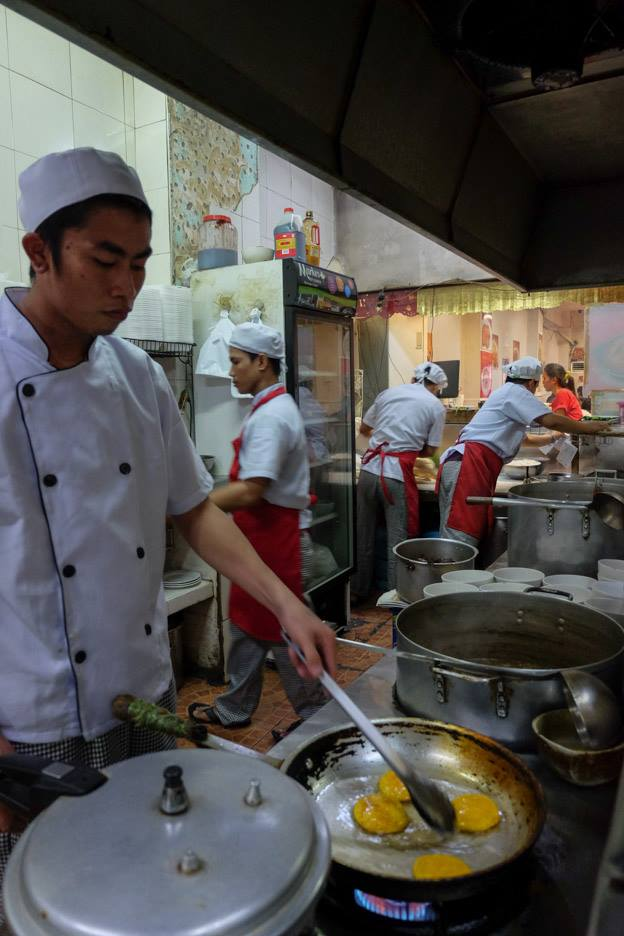 I never thought I would end up as a cook. When I was a little boy, I dreamed of becoming a soldier. I came close to that, I think, when I worked as a security guard in a small condo in Pasay. But that girl in the laundromat--malandi! I am only a man, and so I lost my job when my employer found out what happened. Now I cook eggs day in and day out that sometimes the whites seem to blur into the yellows.