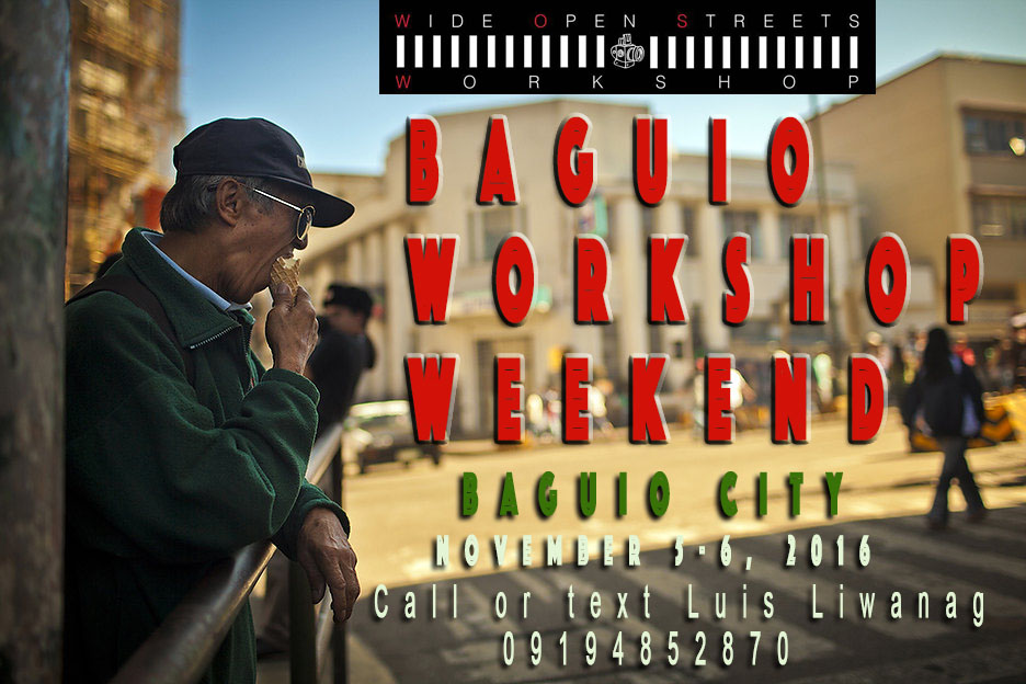 Join Us: A Baguio Workshop Weekend